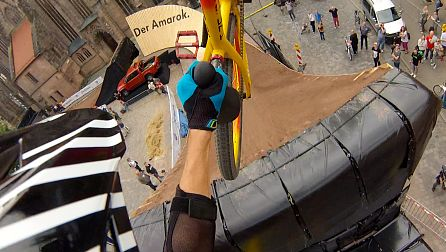 Red Bull District Ride Best GoPro Shot Winner